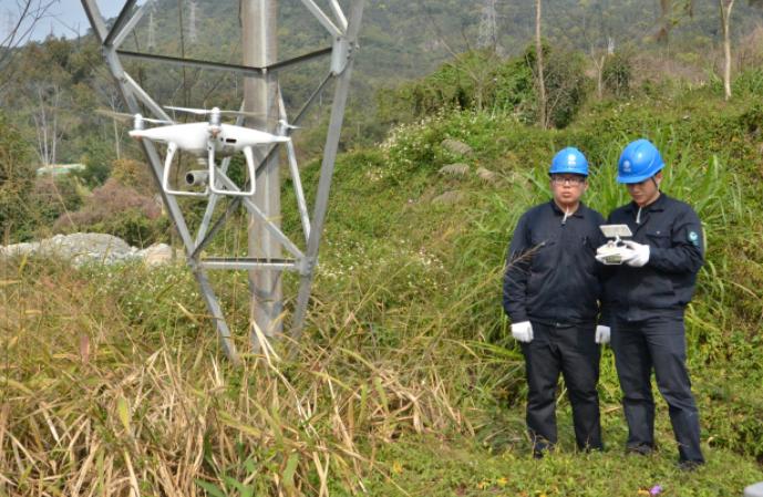 福州供電:開展清明防山火巡線