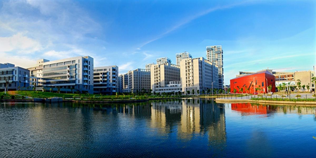 航拍數字福建産業核心區之廈門軟件園