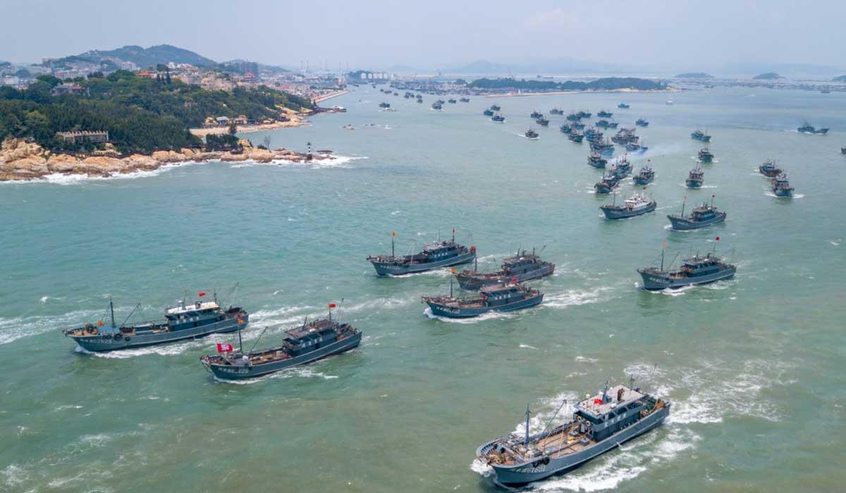 福建東山:千帆競發 耕海牧漁