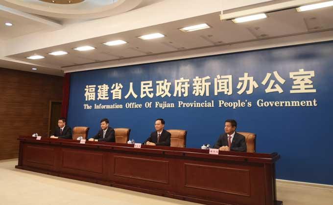 福建省慶祝新中國成立70周年係列主題新聞發布會莆田專場4日舉行