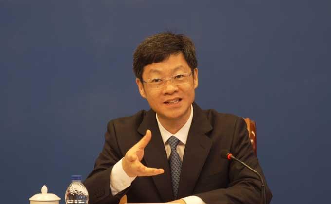泉州市委書記康濤介紹泉州經濟社會發展情況