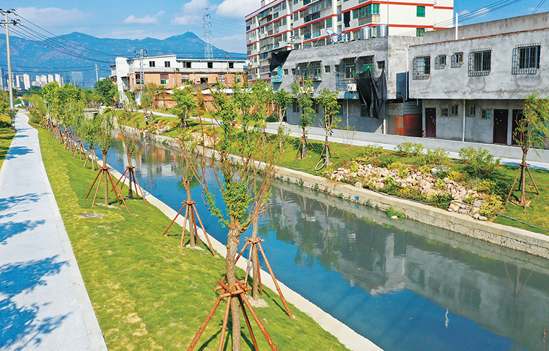 龍津河9公裏長沿河步道月底貫通 新增綠化景觀5.2萬平方米