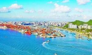 1至8月福建沿海港口貨物吞吐量累計完成3.86億噸
