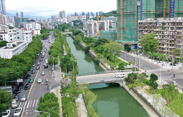 福州:86條主幹河道國慶前貫通開放