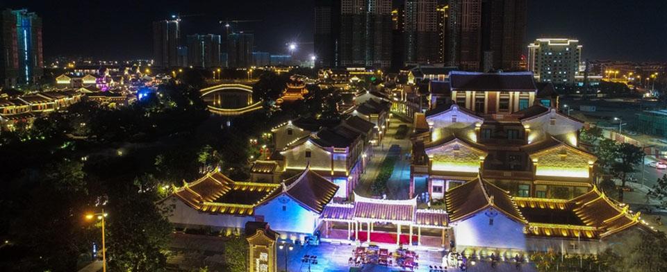 福建漳州:閩南水鄉夜色如畫