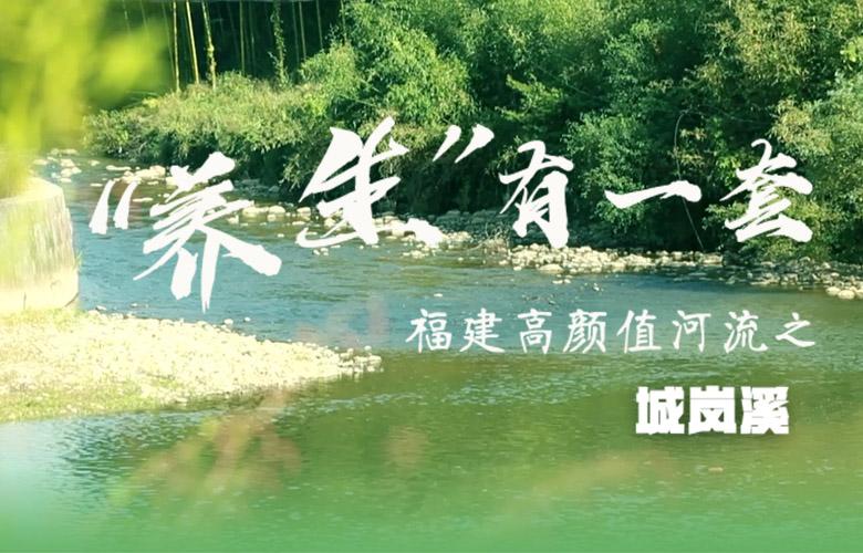 """""""養生""""有一套丨福建高顏值河流之城嵐溪"""