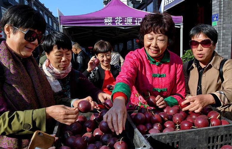 閩北農民慶豐收