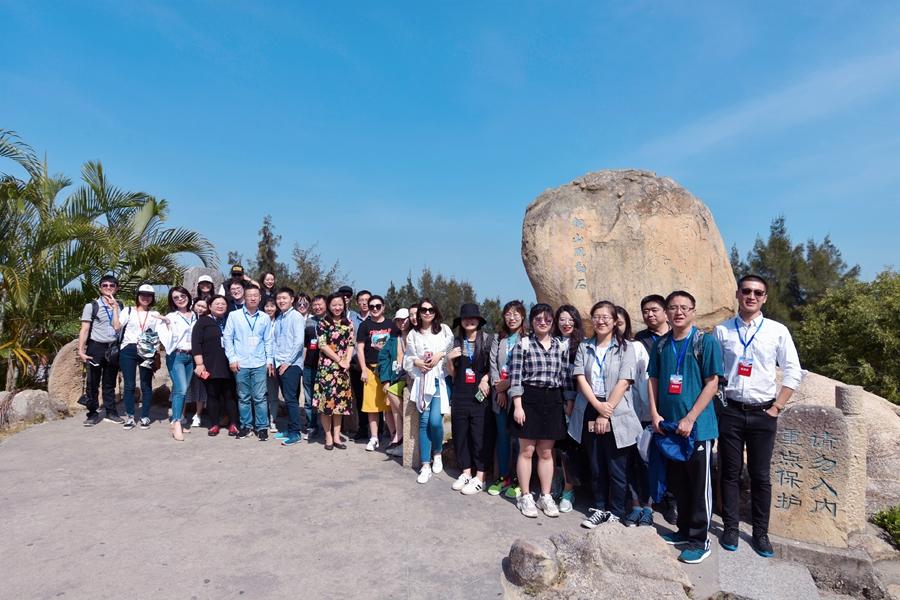網媒採訪團邂逅東山風動石 感受文旅融合新海島