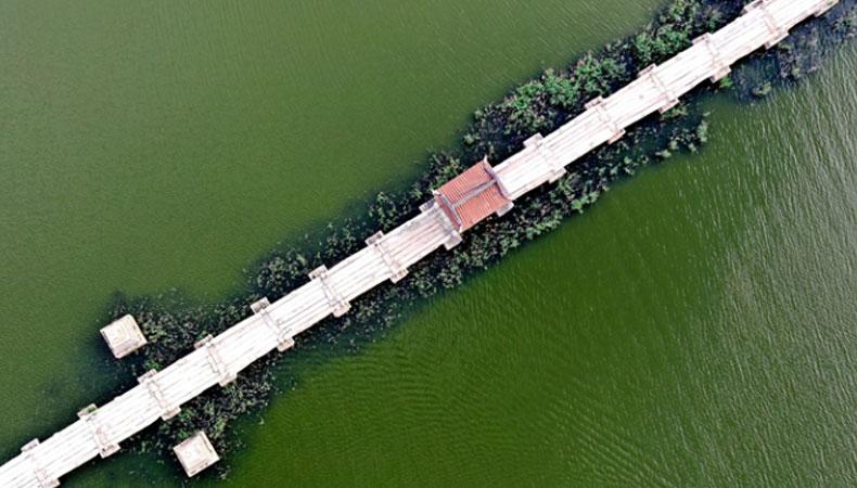 中國現存古代最長石橋 : 泉州安平橋
