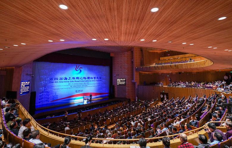 【組圖】第四屆海上絲綢之路國際藝術節開幕