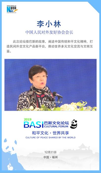 """李小林:講好""""巴斯""""故事 推動世界多元文化交流"""