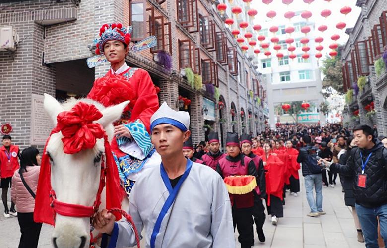 【新春走基層】福建閩清:梅城印記特色歷史文化街區開街