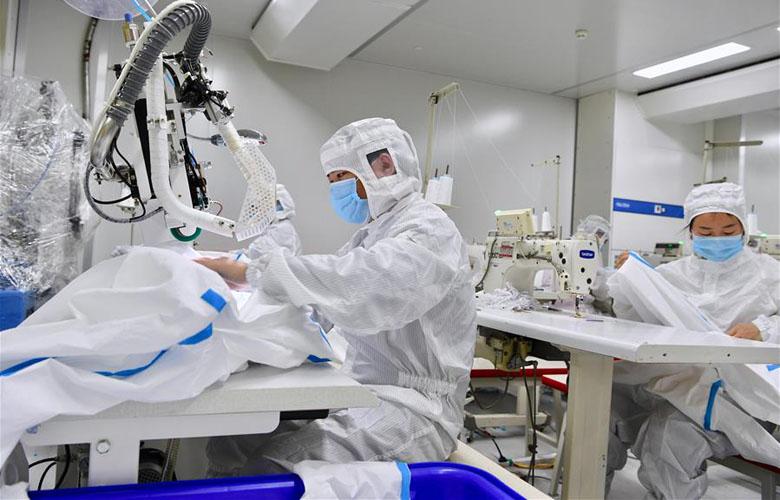 福建晉江:統籌推進防疫物資生産