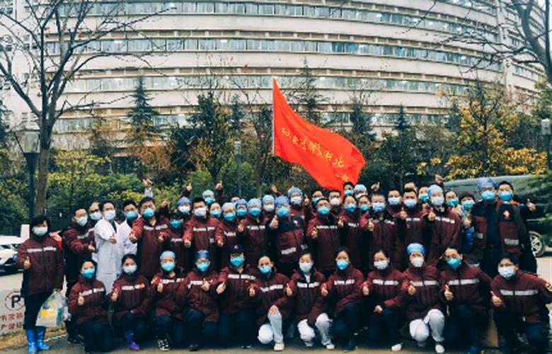 我們在金銀潭醫院的最後一班崗