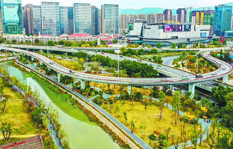 3公里化工路fang) 捎 齟蟺沿線整(zheng)治工作擬于(yu)世遺大會(hui)召開前完成