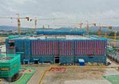 廈門:百億量級中航鋰電項目一期主廠房封頂