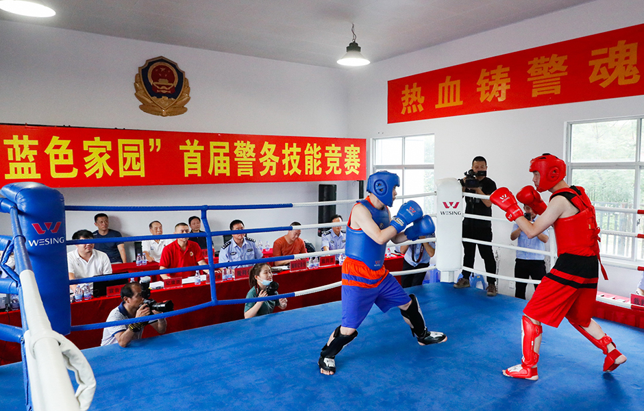 組圖|福州警界格鬥高手同臺比武