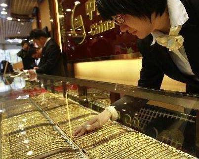 金價創近九年新高 福州黃金回收業務火了