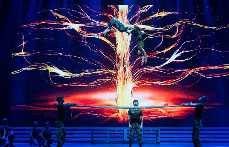 組圖丨福建省抗擊疫情專場文藝演出上演 致敬逆行的勇士