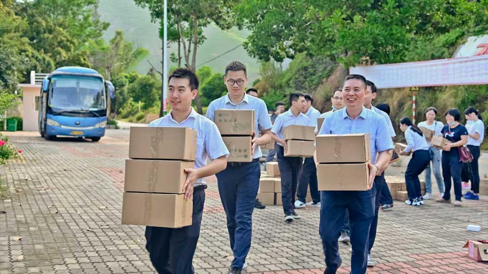 省行團委組織青年員工赴雲霄縣馬鋪鄉開展定點幫扶活動