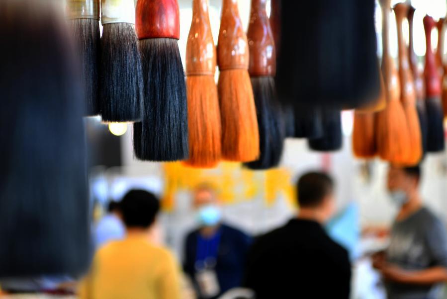 全國文房四寶藝術博覽會在廈門開幕