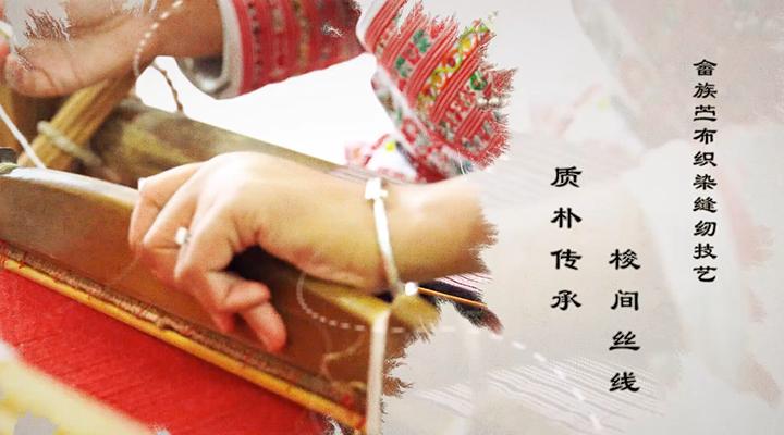 八閩非遺紀行|畬族苧布織染縫紉技藝:梭間絲線 質樸傳承