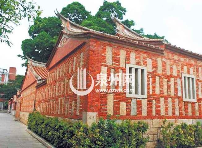 红砖建筑 闽南文化的核心支柱