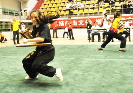 国际南少林武术邀请赛开赛